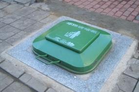 地埋垃圾桶的优点特点