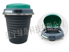 塑料卫生垃圾桶的应用及颜色不均匀的缘由