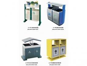 钢板喷塑垃圾箱