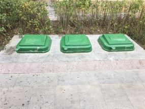 地埋垃圾箱系列