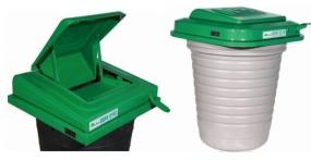 LD130B地埋垃圾桶